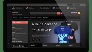 تصميم أفضل و أرقى مواقع التسوق الكتروني بتصاميم عصرية