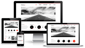 تصاميم مواقع متجاوبة مع كل أنواع الأجهزة الذكية المحمولة و اللوحية