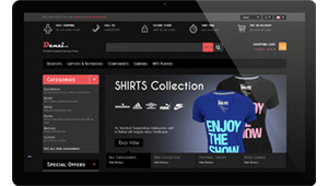 تصميم أفضل و أرقى المتاجر الالكترونية بتصاميم عصرية وخدمات متطورة